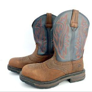 Wolverine Men's Work Boots, Brown, Size 7